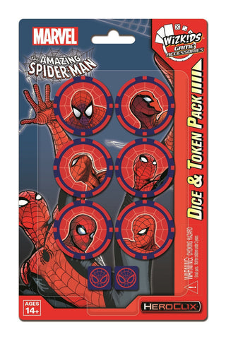 Spider-Man Dice and Token Pack - Bearded Collectibles