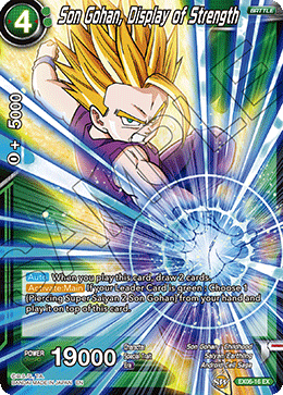 Son Gohan, Display of Strength (FOIL)