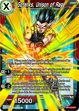 Gotenks, Unison of Rage