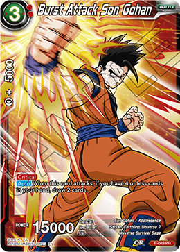 Burst Attack Son Gohan (Alternate Art FOIL)