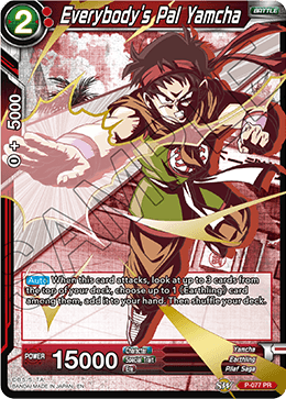 Everybody's Pal Yamcha (Alternate Art FOIL)