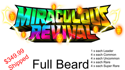 Set 5 Miraculous Revival - Full Beard