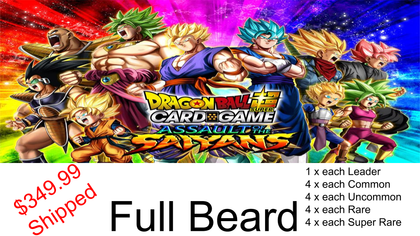 Assault of the Saiyans - Full Beard