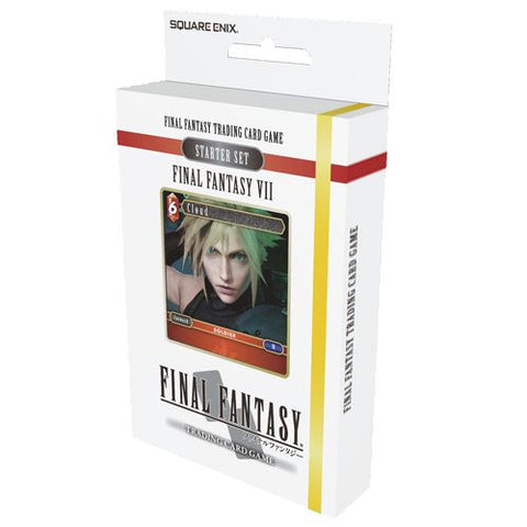 FINAL FANTASY TCG: VII STARTER DECK (FIRE AND EARTH) - Final Fantasy