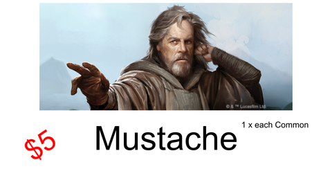 Way of the Force - Mustache - Bearded Collectibles