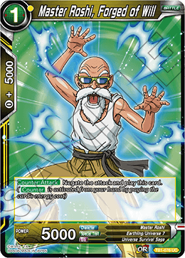 Master Roshi, Forged of Will (FOIL)