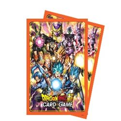 Dragon Ball Super Standard Size Deck Protector sleeves 65ct. - All Stars - Bearded Collectibles