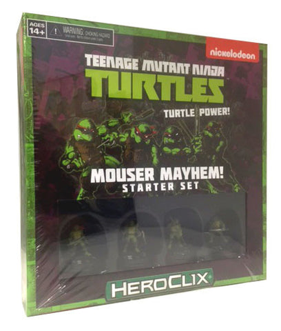 Teenage Mutant Ninja Turtles: Mouser Mayhem Starter Set - Bearded Collectibles