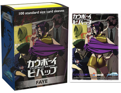 Dragon Shield Classic Cowboy Bebop - Faye Art Sleeves (100) - STANDARD SIZE