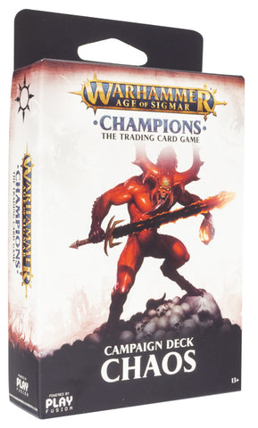 Warhammer Age of Sigmar: Campaign Deck - Chaos