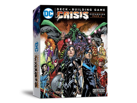 DC Comics Deck Building Game: Crisis Expansion Pack 4
