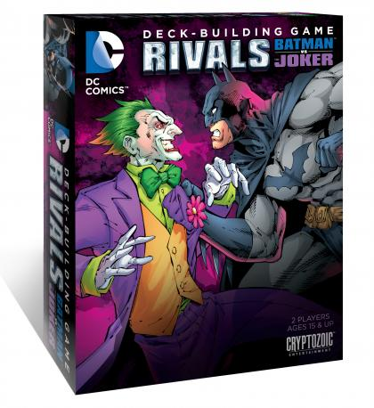 DC Comics Deck Building Game: Rivals - Batman vs Joker