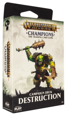 Warhammer Age of Sigmar: Campaign Deck - Destruction