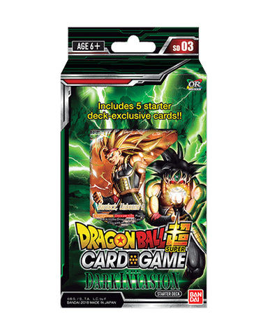 Set 3 - Starter Black - Dragon Ball Super
