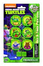 Teenage Mutant Ninja Turtles Dice and Token Pack - Bearded Collectibles