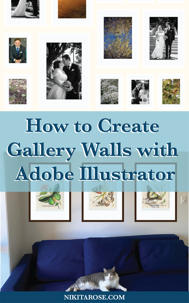 How to Create Gallery Wall Designs with Adobe Illustrator