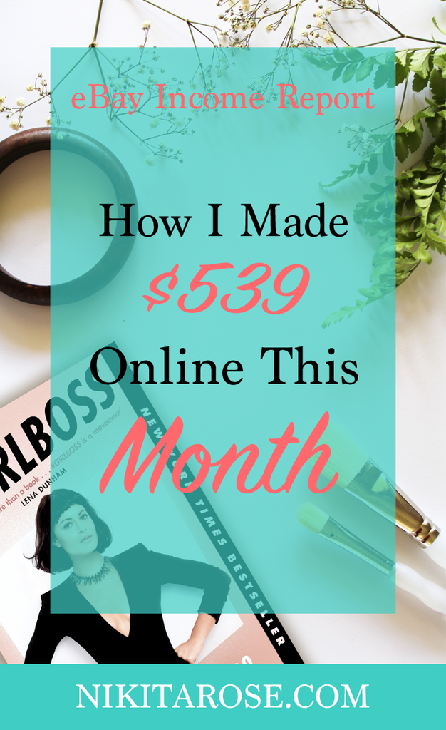 Side Hustle eBay Income Report - March 2017