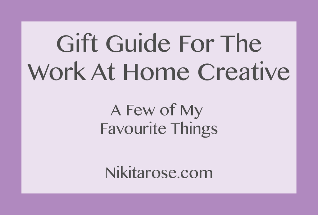 Gift Guide For The Work At Home Creative