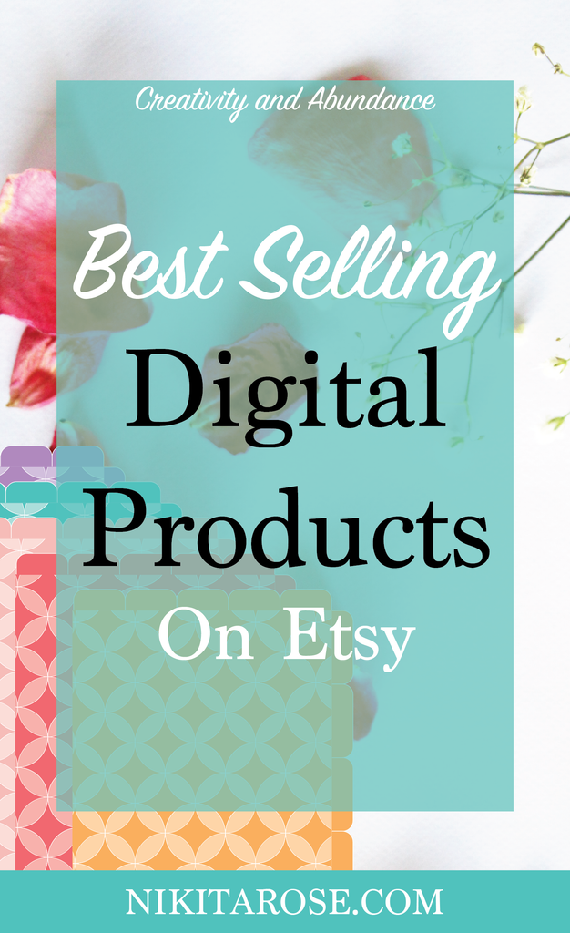 Best Selling Digital Product Ideas Sell On Etsy