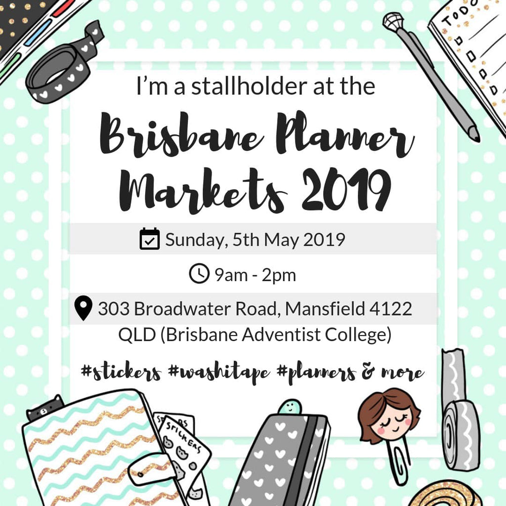 Brisbane Planner Markets Stallholders Announced May 2019