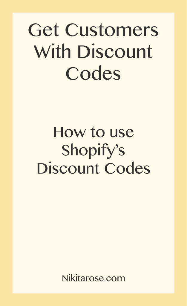 Get Customers Spending with Discount codes. Reward your followers.