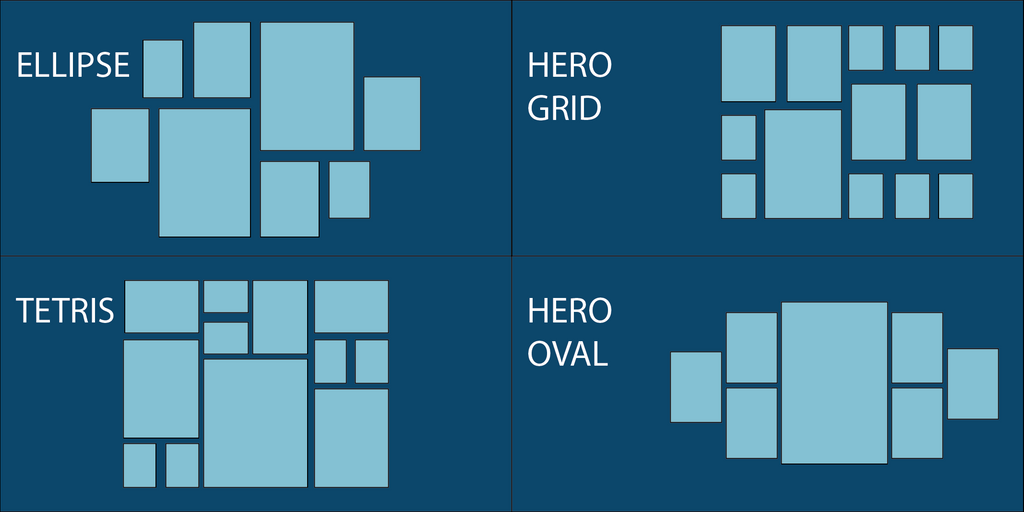 Gallery Wall Layout Styles