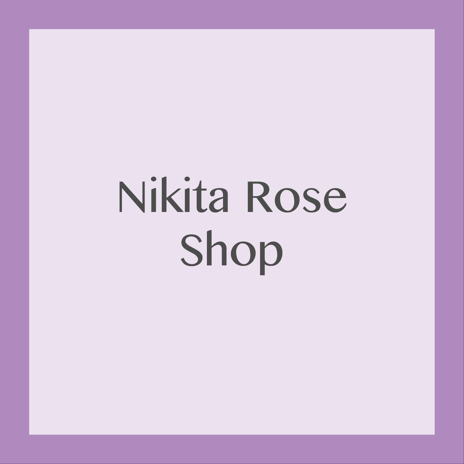 Nikita Rose Planner Printables Shop