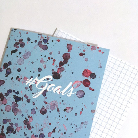 Travellers Notebook Thousand Dollars Digital Paper Print Cover Goals Planner
