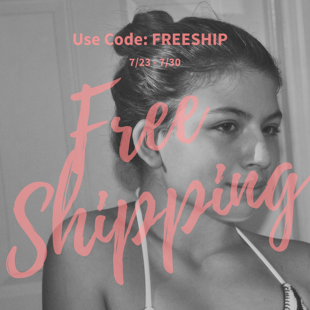 Free Shipping This Week.