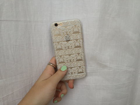 White Elephant iPhone Case - Rachel Michelle USA