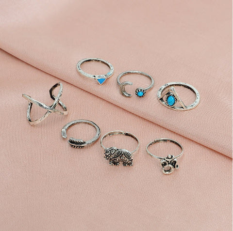 Natalia Ring Set - Rachel Michelle USA
