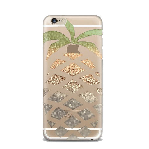Ombre Pineapple iPhone Case - Rachel Michelle USA