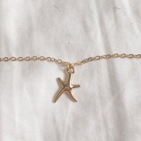 Starfish Layering Necklace - SnapCali