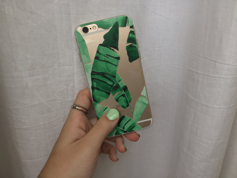 Cactus Leaves iPhone Case - Rachel Michelle USA