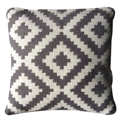 Ava Cushion DOVE GREY /  Light Cream, Outdoor Cushions, Recycled Polypropylene