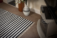 Union Stripes Rug (120 cm x 180 cm) - greendecore.co.uk - 1