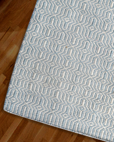 Viva Sky and Light Cream Rug