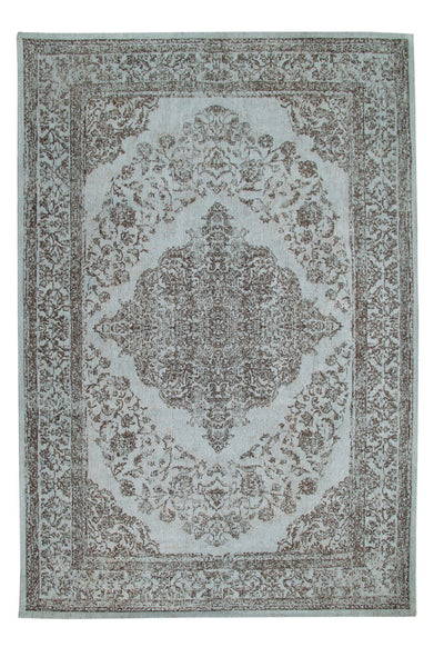 Expression Blue and Grey Rug - greendecore.co.uk - 1