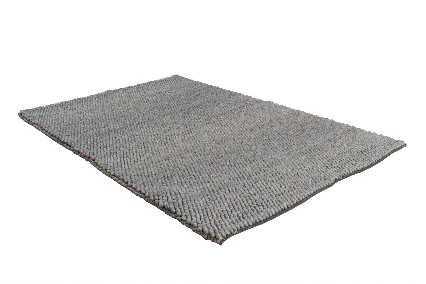Eternity Wool Rug , Grey - greendecore.co.uk - 4