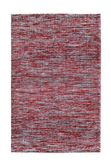 DP 15 Red and Light Cream Rug