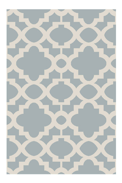 DP 49  Sky and Light Cream Rug - greendecore.co.uk
