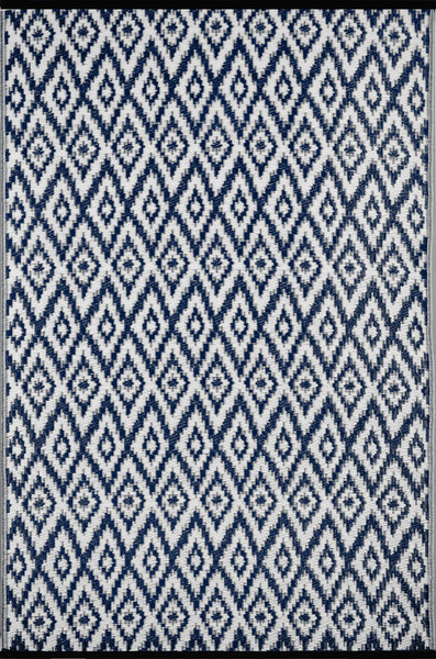 Espero Blue and White Rug - greendecore.co.uk - 2