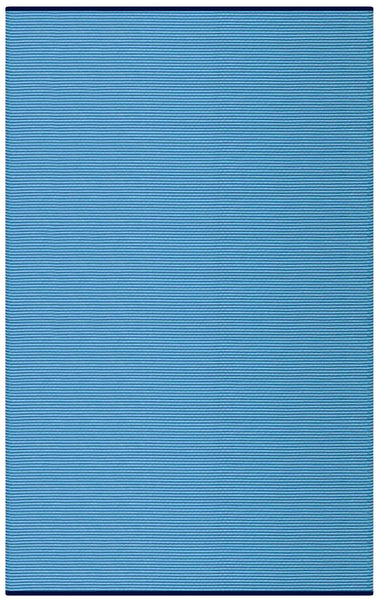Multi Blue stripes Indoor Outdoor Pet Rugs