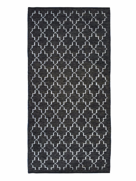 DP 35 Coal and Light Cream Rug - greendecore.co.uk - 3
