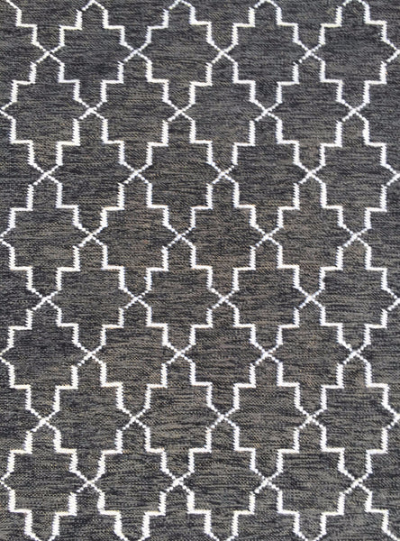 DP 35 Coal and Light Cream Rug - greendecore.co.uk - 5