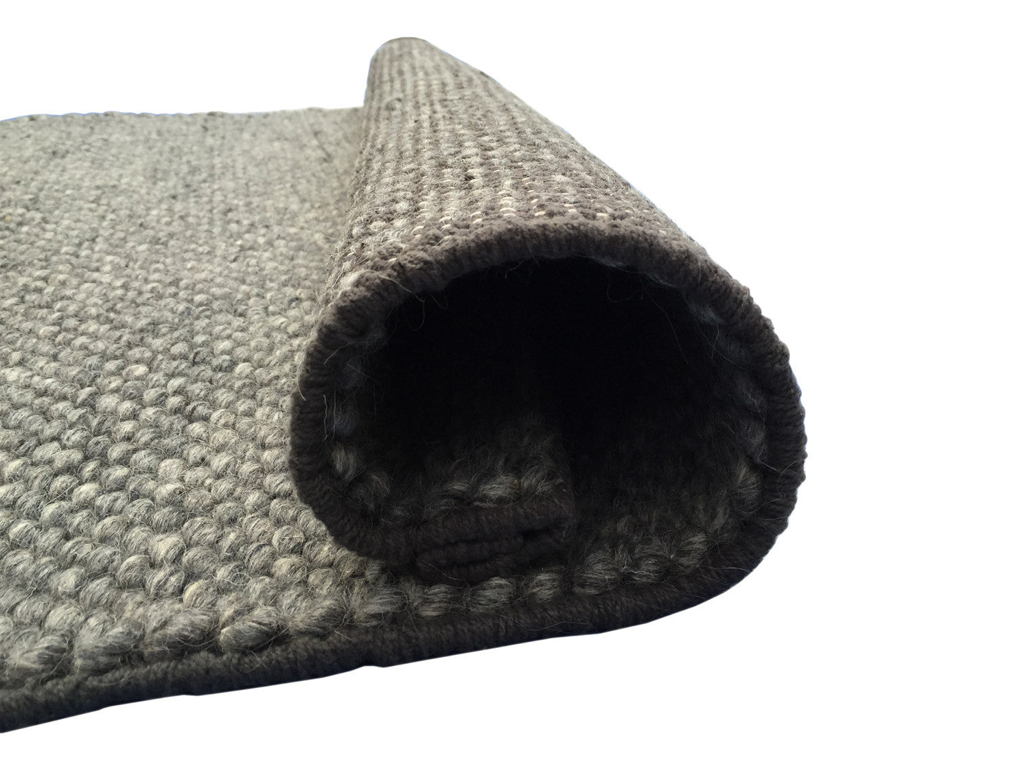 Eternity Wool Rug , Grey - greendecore.co.uk - 3