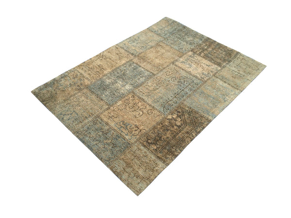 Mystique Petrol Blue Rug - greendecore.co.uk - 4