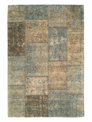 Mystique Petrol Blue Rug - greendecore.co.uk - 2