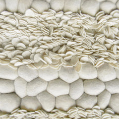 Petals and Pebbles Wool Rug - greendecore.co.uk - 1