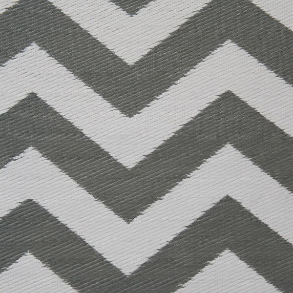 Psychedelia Grey and White Rug - greendecore.co.uk - 3